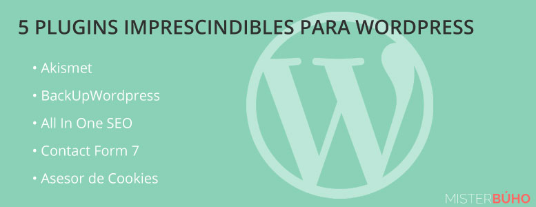 5 plugins para wordpress gratis