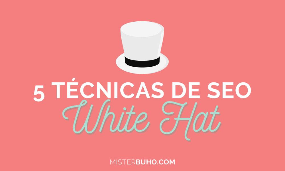 5 técnicas de SEO White Hat