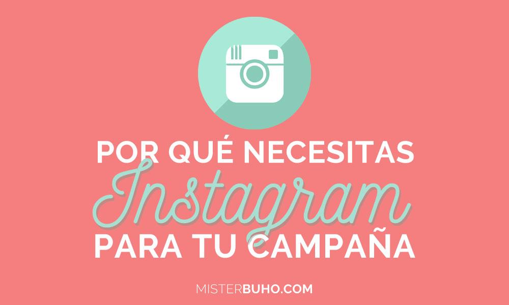 Necesito Instagram para mi campaña de marketing