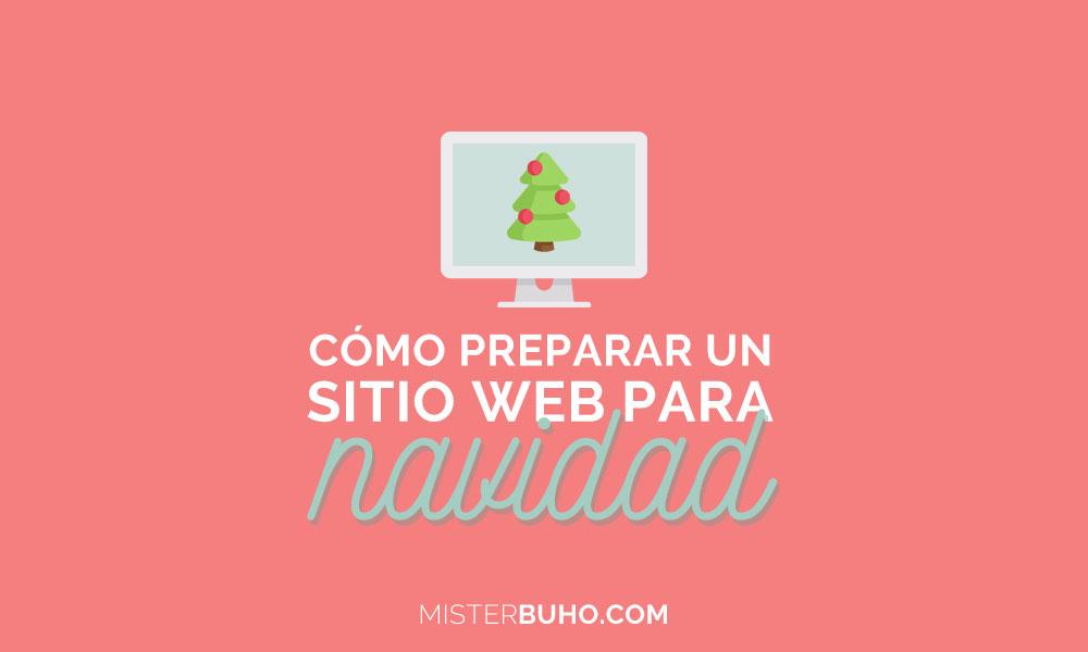 Cómo preparar un sitio web para navidad