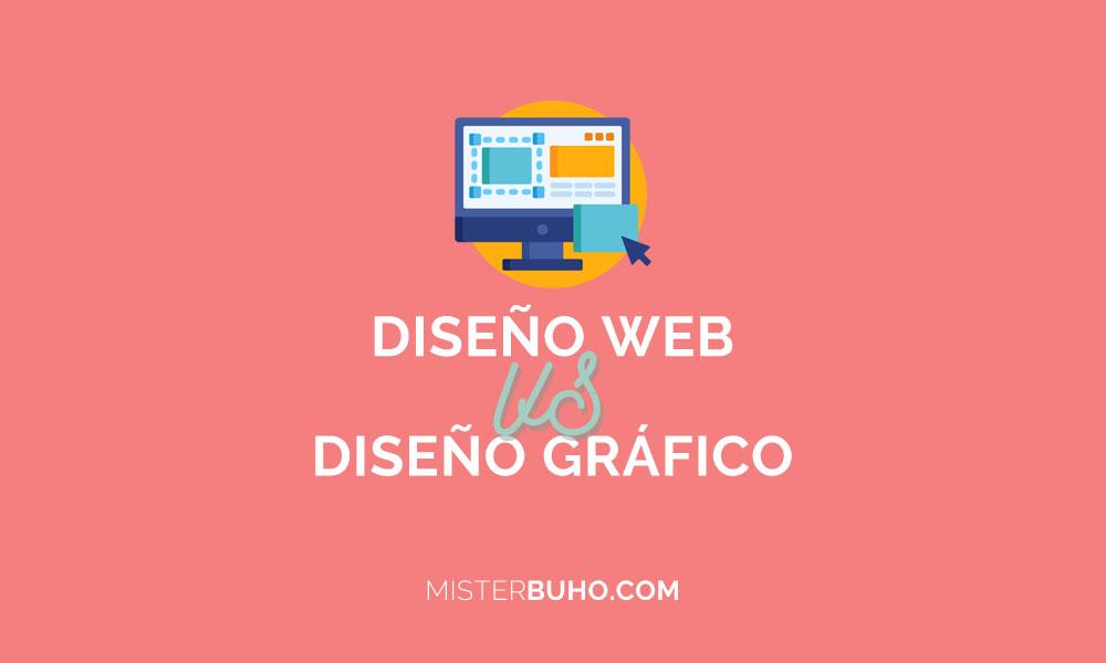 Diseño web y gráfico hay diferencias