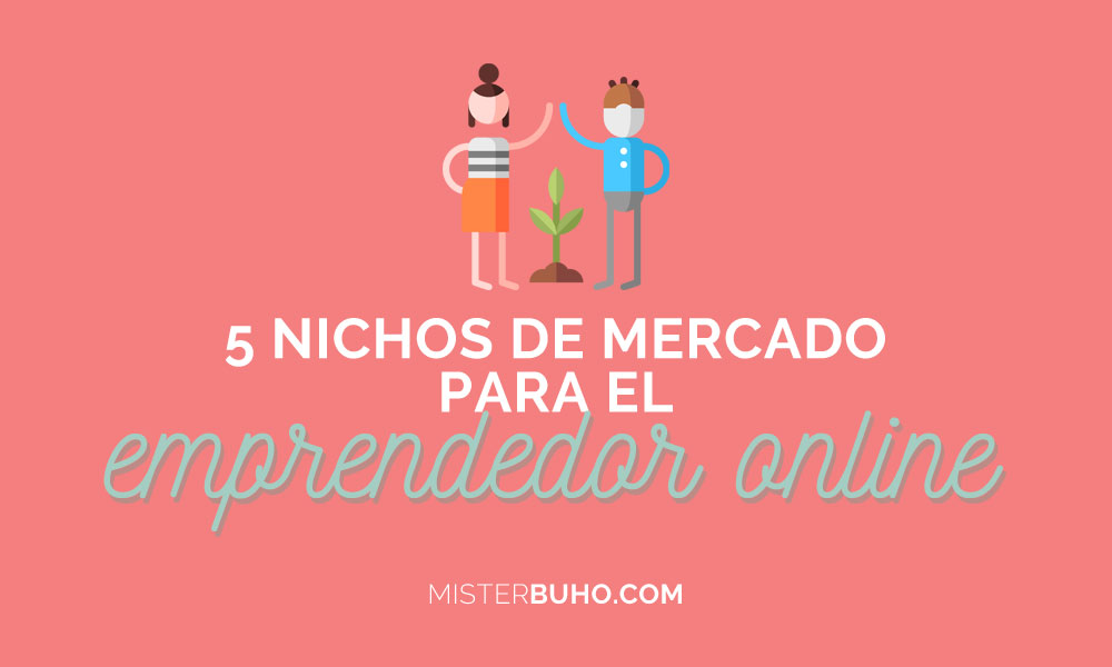 5 nichos de mercado para el emprendedor online
