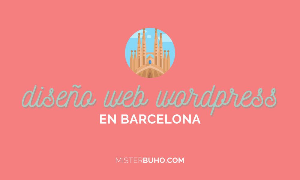 Diseño web en WordPress en Barcelona consejos