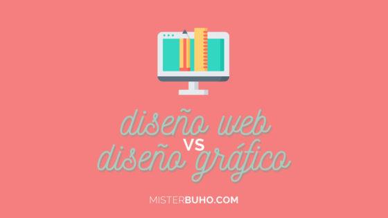 Diseño web y gráfico diferencias