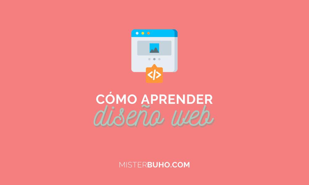 Cómo aprender diseño web
