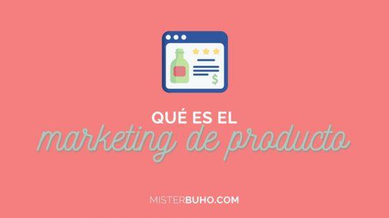 El marketing de producto