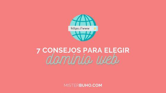 7 consejos para elegir dominio web